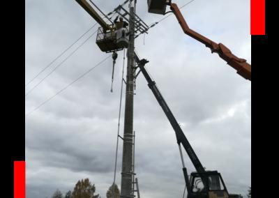 Budowa sieci elektroenergetycznych